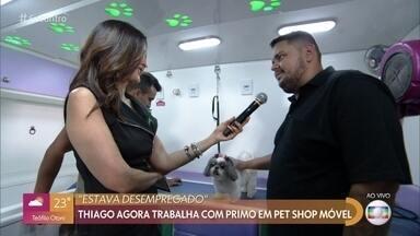 Brasileiros criam formas de garantir a renda - Conheça alguns negócios sobre rodas