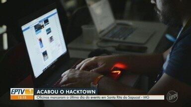 Oficinas marcaram o último dia do Hacktown em Santa Rita do Sapucaí - 5ª edição do evento terminou no último domingo (8) e reuniu diversa novidades do universo da tecnologia.