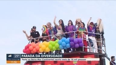 13ª edição da Parada LGBTIQ+ de Florianópolis leva milhares de pessoas à Beira-Mar - 13ª edição da Parada LGBTIQ+ de Florianópolis leva milhares de pessoas à Beira-Mar