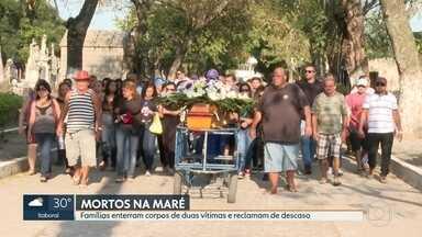Vítimas mortas no Complexo da Maré são enterradas - Família falam de descaso das policiais em relação aos corpos dos moradores. Redes da Maré divulgam nota repudiando operações e violência.
