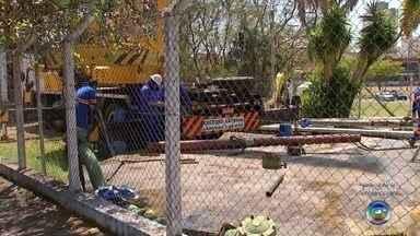 """Queima de bomba prejudica abastecimento de água na região sul de Bauru - A queima da bomba submersa do poço """"Nações Unidas"""" de Bauru (SP) pode prejudicar o abastecimento de água de moradores de alguns bairros da cidade."""
