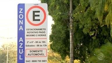 Zona Azul começa a funcionar em Votorantim nesta segunda-feira - O serviço de estacionamento rotativo, conhecido como Zona Azul, começa a funcionar em Votorantim (SP), nesta segunda-feira (9).