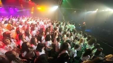 Concerto fecha programação do Festival de Corais de Catanduva - Um concerto com mais de 400 vozes fecha programação Festival de Corais de Catanduva (SP) neste sábado (7).