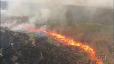 Brasil tem o maior número de focos de incêndio desde 2012, segundo o Inpe - No fim de semana, o número de focos de queimadas no Brasil passou de 100 mil. O levantamento é do Instituto Nacional de Pesquisas Espaciais, vinculado ao ministério da Ciência e Tecnologia.