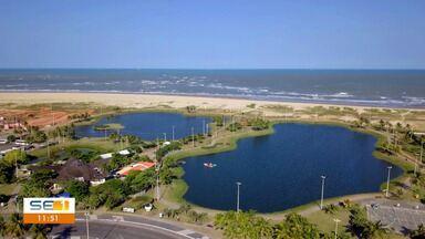 Homem morre após se afogar em lago da Orla de Aracaju - Homem morre após se afogar em lago da Orla de Aracaju.