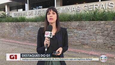 G1 no BDMG: Cunhado de Ana Hickmann é absolvido em 2ª instância pelo TJMG - No ano passado, Correa já havia sido absolvido em 1ª instância da acusação de matar Rodrigo Augusto de Pádua, que se dizia fã da apresentadora e planejou atentado contra ela.
