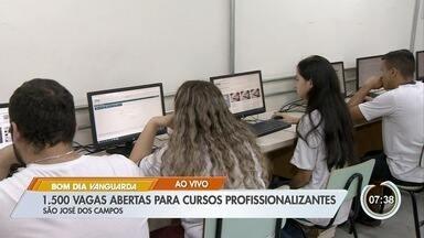 São José tem 1,5 mil vagas para cursos profissionalizantes à distância - Cursos são oferecidos pelo Cephas.