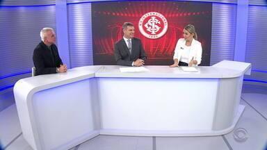 Maurício Saraiva analisa qualidade técnica de Inter e Athletico-PR - Maurício fala sobre favoritismo dos colorados para a partida desta quarta-feira.