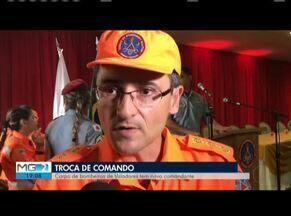 Governador Valadares terá novo comandante dos Bombeiros - Solenidade da troca de Comando foi realizada com autoridades e familiares dos militares.