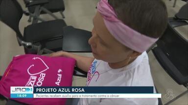 Projeto Azul Rosa em Rondônia - Mais de 100 pacientes já receberam ajuda para continuar tratamento contra o câncer.