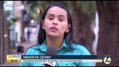 Celpa realiza caranava da conciliação do bairro da Condor, em Belém - A Caravana da Negociação é uma ação promovida com o intuito de beneficiar a população que busca atendimento de negociação de débitos e auxílio com atendimentos comerciais.