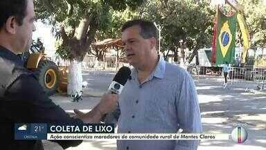 Prefeitura de Montes Claros realiza coleta de lixo em comunidade rural - A ação de conscientização dos moradores e limpeza, será realizada nesta sexta (13).