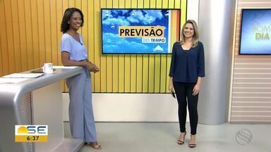 Michele Costa fala sobre a previsão do tempo em Sergipe - Michele Costa fala sobre a previsão do tempo em Sergipe.