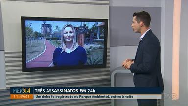 Ponta Grossa registra três assassinatos em período de 24 horas - Um deles aconteceu no Parque Ambiental.