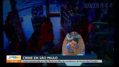Jovem assassinada em São Paulo era filha de paraibanos - A jovem estava desaparecida desde domingo.