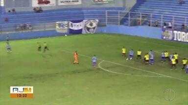 Apesar da crise, Goytacaz segue vencendo na série B1 do Campeonato Carioca - Time bateu o Tigres.