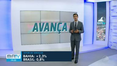 Setor de serviços da Bahia tem crescimento de cerca de 2,3%, aponta IBGE - O aumento é referente ao período de junho para julho de 2019.