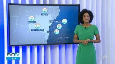 Confira a previsão do tempo para Salvador e interior do estado na sexta-feira (13) - Último dia da semana promete sol em todo estado.