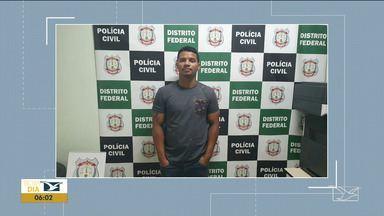 Suspeito de matar médico do Maranhão é preso no Distrito Federal - Crime aconteceu em 2010 em São Luís e Danielson da Silva Cutrim estava foragido desde a época do assassinato.