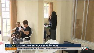 Mutirão no São Brás ajuda quem procura emprego - As orientações vão até às 16 horas de hoje (13) no Centro de Referência Social.
