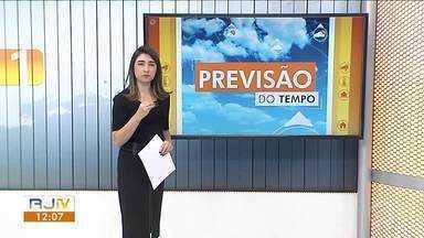 Frente fria deixa tempo instável nesta sexta-feira no Sul do Rio - Dia tem possibilidade de chuva isolada na região.