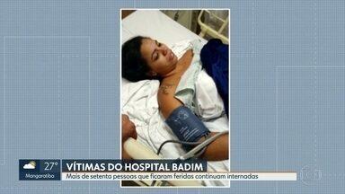 Mais de 70 pessoas que estavam no hospital atingido por incêndio continuam internadas - Entre os sobreviventes se misturam histórias de pânico e solidariedade.