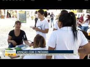 Setembro Amarelo chama a atenção para a prevenção do suicídio em Valadares - Voluntários do Centro de Valorização da Vida, ajudam na campanha de prevenção ao suicídio. Para aqueles que precisarem conversar, basta ligar no número 188.