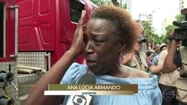 Termina perícia no hospital Badim, que pegou fogo no Rio de Janeiro - O incêndio deixou 11 mortos. Os peritos retiraram parte do gerador que explodiu para fazer uma análise detalhada.