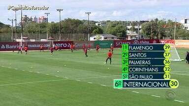 Inter enfrenta o Atlético-MG neste domingo (15) pelo Brasileirão - Time que entra em campo deve ser com os reservas.