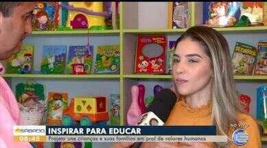 Projeto ensina valores humanos a crianças - Projeto ensina valores humanos a crianças