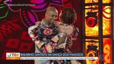 Criado nos cortiços de Santos, bailarino faz sucesso na Dança dos Famosos - Igor Maximyliano participou do filme 'Querô' e é professor da cantora Fernanda Abreu no quadro do Domingão do Faustão.