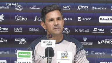 Remo faz adaptação a horário do jogo contra o Atlético-AC - Eudes Pedro comanda movimentação às 15h, no mesmo horário do duelo contra o Galo Carijó no Baenão.