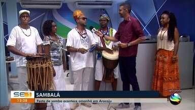 Festa de samba acontece neste domingo em Aracaju - Festa de samba acontece neste domingo em Aracaju.
