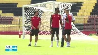 Sport se prepara para enfrentar o Figueirense - Globo transmite partida, válida pela Série B, a partir das 16h do domingo.