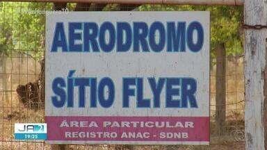 Aeródromo é alvo de operação da PF e da Anac em Palmas - Aeródromo é alvo de operação da PF e da Anac em Palmas