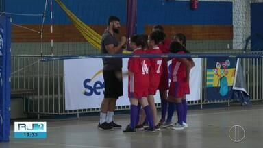 Disputas dos Jogos Estudantis do Sesc no Norte e Noroeste Fluminense marcam sábado (14) - Competição vai até novembro.