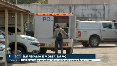 Empresária é morta dentro do apartamento; polícia suspeita de namorado - Empresária é morta dentro do apartamento; polícia suspeita de namorado.
