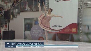 Santos Dance Festival acontece no Teatro Municipal de Santos - Evento acontece neste fim de semana.