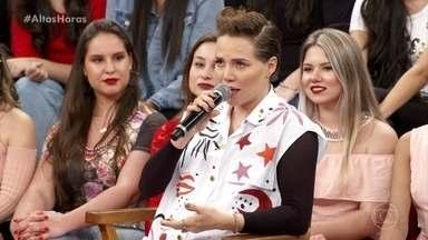 Letícia Colin fala sobre a gravidez - Ela diz que teve tontura, esquecimento, mau-humor, TPM, insônias, sonhos loucos