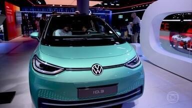 Confira os modelos elétricos lançados no Salão de Frankfurt - Veja os modelos de carros elétricos lançados no principal evento de automóveis do ano.