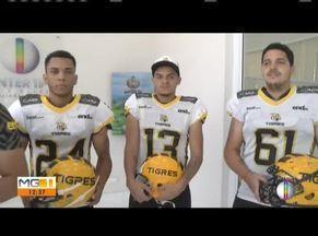 Veja as notícias do esporte na região - Time de futebol americano de Ipatinga enfrenta o Black Knights.