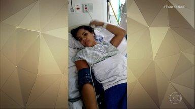 Dois pacientes que estavam no Hospital Badim recebem alta - No final de semana, 20 pacientes que estavam internados no hospital quando o local pegou já voltaram para suas casas.
