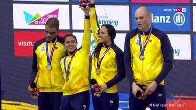 Carlos Farrenberg fatura medalha de prata no Mundial Paralímpico de Natação - A conquista aconteceu no revezamento 4x100m livre, em competição que está sendo realizada em Londres, na Inglaterra.