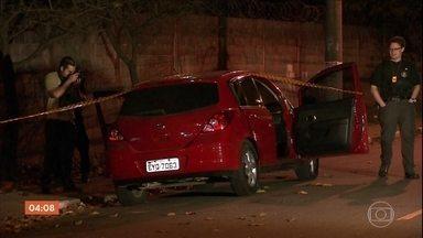 Polícia investiga assassinato de dois motoristas de aplicativo em SP - Crimes aconteceram no intervalo de 18 horas. Câmeras de segurança da rua onde uma das vítimas morava, flagrou a ação.