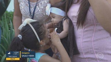 'Uma vida, uma árvore': para cada bebê que nasce, uma muda é plantada em Betim - Projeto é uma parceria entre a Globo, a Prefeitura de Betim, o cartório de registro e hospitais e maternidades das redes públicas e privadas da cidade.