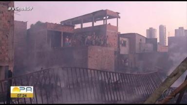 Defesa Civil continua recebendo doações para famílias desabrigadas após incêndio - As doações continuam acontecendo para as famílias que perderam tudo no incêndio.
