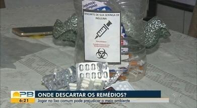 Saiba qual a melhor maneira de descartar remédios desnecessários - Jogar no lixo comum pode prejudicar o meio ambiente.