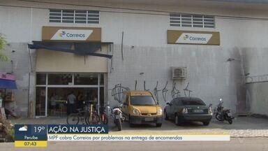 Ministério Público Federal entra com ação para que Correios entreguem em áreas de risco - A intenção é que a entrega seja regularizada em cinco cidades da Baixada Santista.