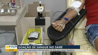 HEMOPA realiza campanha de doação de Sangue no período do Sairé - Meta é alcançar mais de 80 bolsas.