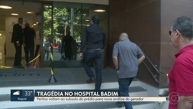 Morre 13ª vítima do incêndio no Hospital Badim - A décima terceira vítima do incêndio no hospital, Áurea Martins, era paciente do Hospital Badim e morreu nesta madrugada. A décima segunda vítima, Yolandina Gaspar, será enterrada nesta terça-feira (17).
